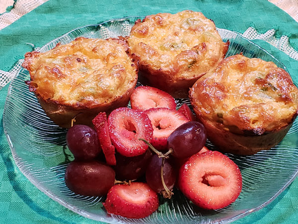 Southwest Breakfast Muffins